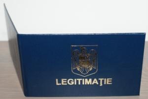 legitimatii de serviciu personalizate coperta folio