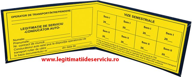 Model nou 2014 legitimatii conducatori auto agreate ARR