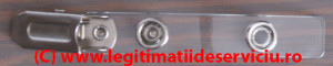 Clips metalic transparent ecusoane