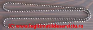 Lantisor metalic ecusoane 50cm