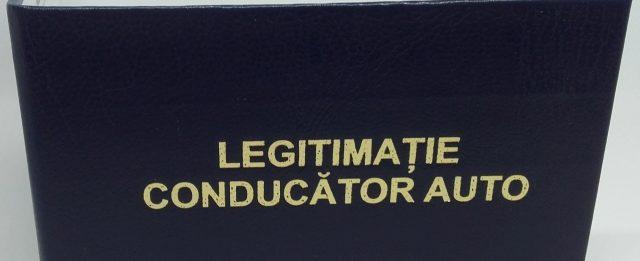 Coperta personalizata folio Legitimatie conducator auto ARR